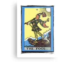 The Fool Tarot Card Metal Print