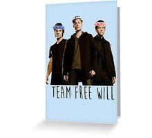 Team Free Fabulous Greeting Card