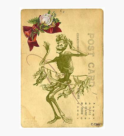 Day Of The Dead Dancer Cinco De Mayo Photographic Print
