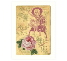 Day Of The Dead Cowgirl Cinco De Mayo Art Print