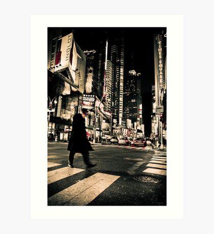 ''Broadway'' Art Print