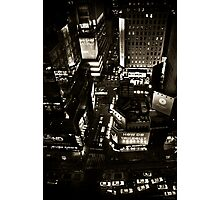 ''Little White Taxis'' Photographic Print