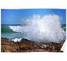 Wave Impact Poster