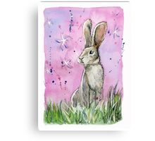 Willow the hare Canvas Print