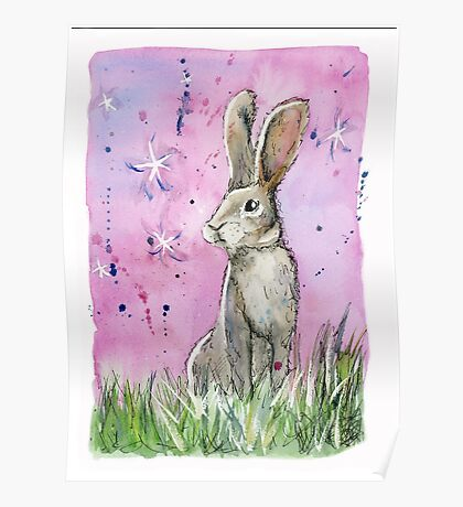 Willow the hare Poster