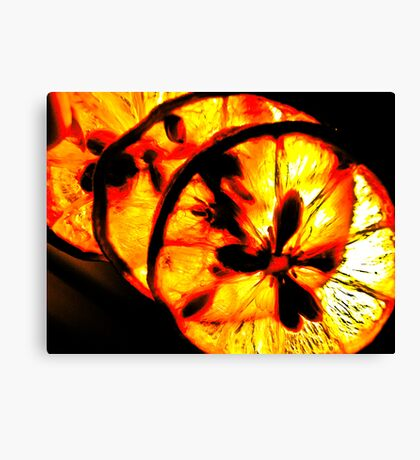 Lemon displayed...Got 4 Featured Works Canvas Print