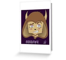 Werelove   ;D Greeting Card