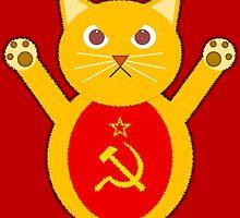 Comrade cat by jaxxx