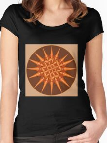 Spiked Pumpkin Spice Women's Fitted Scoop T-Shirt