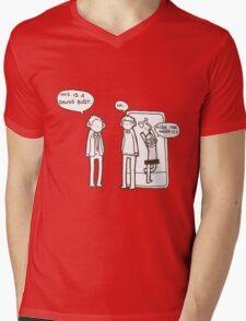 """It's a drugs bust"" Mens V-Neck T-Shirt"