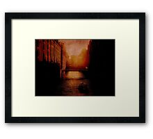 Casanova's Waterway Framed Print