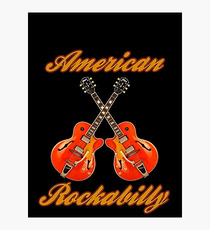American Rockabilly Photographic Print