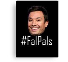 #FalPals White Canvas Print