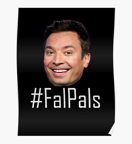 #FalPals White Poster