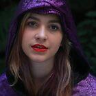 Princess in Purple 2015 by Maureen Clark