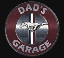 Always Thru Dad's Mustang Garage One Piece - Short Sleeve