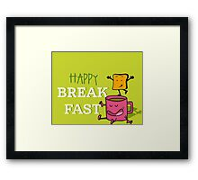 Happy Breakfast - 2 Framed Print