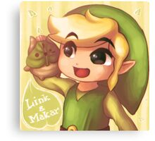 Legend of Zelda: Wind Waker buddies Canvas Print