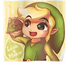 Legend of Zelda: Wind Waker buddies Poster