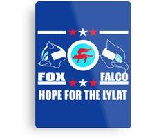 StarFox Zero: Hope for the Lylat Metal Print