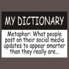 My Dictionary: Metaphor by Ryan Houston