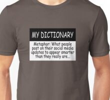 My Dictionary: Metaphor Unisex T-Shirt
