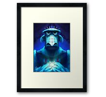 Muppet Maniac - Sam the Eagle as Pinhead Framed Print