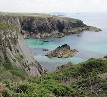 Pembrokeshire - cliffs and bay by demon6421