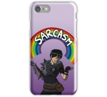"""""""Helping people and killing people are what I'm best at."""" iPhone Case/Skin"""