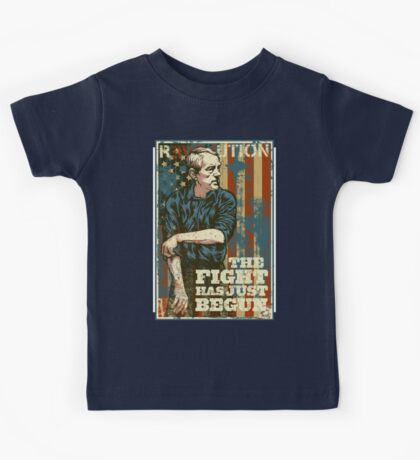 Ron Paul The Fight Has Just Begun Kids Clothes