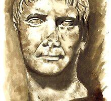 Emperor Trajan, Rome  I-II DC by Greta Art