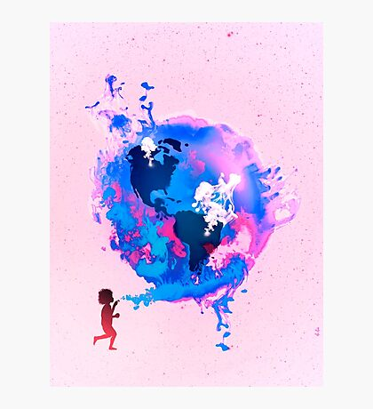 Bubble Earth Photographic Print