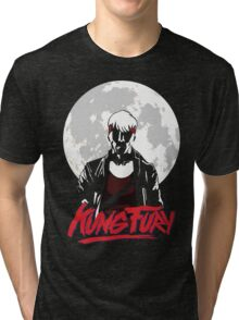Kung Fury - Moon Tri-blend T-Shirt