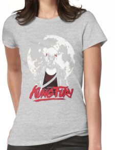 Kung Fury - Moon Womens Fitted T-Shirt