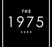 THE 1975 - CLASSIC LOGO, WHITE by splxcity