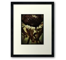 """""""The leaves of memory seemed to make; A mournful rustling in the dark.""""~Henry Wadsworth Longfellow Framed Print"""
