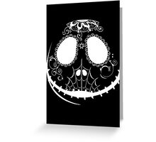 Candy Jack - White Greeting Card