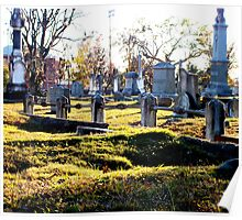 Cedar Grove Cemetery Poster