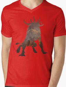 The Witcher 3 - Fiend Mens V-Neck T-Shirt