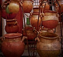 Mexican Clay Pots by MaluC