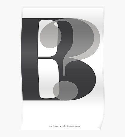 Modern Typography B? Poster