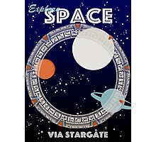 Explore Space Photographic Print