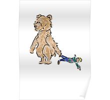 baby bears favorite doll Poster