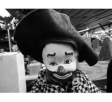 Clown Doll of Rocky Comfort Photographic Print