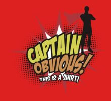 Captain Obvious One Piece - Short Sleeve
