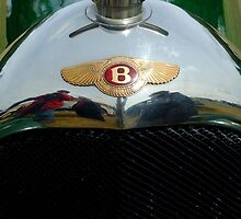 "Bentley ""Red Label"" radiator badge. by John Morris"