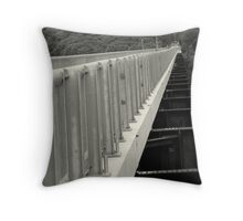 ~Perspectives~ in Black and White Throw Pillow