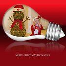 It's A Zoey Christmas by John  Kapusta