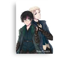 Draco and Harry Canvas Print