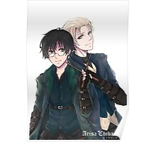 Draco and Harry Poster